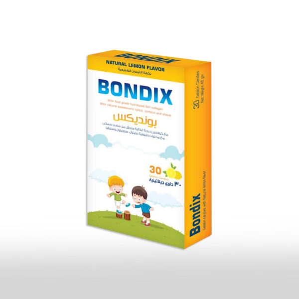 Bondix - حبات جيلاتينية ناعمة