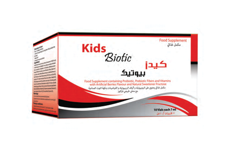 KIDS BIOTIC is keeping in room Temperature