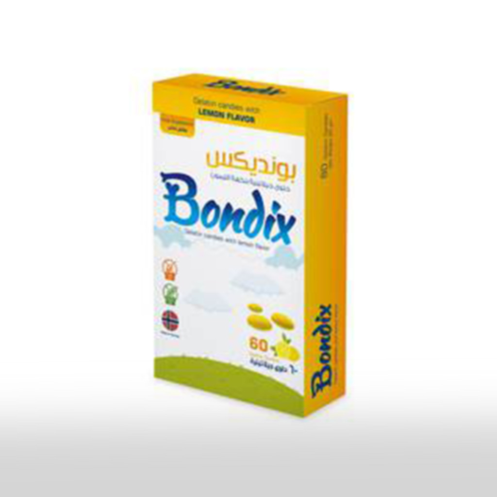 Bondix 60 - حلوى جيلاتينية ناعمة